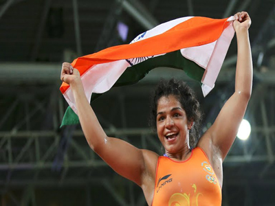 sakshi achieved medal rio olympics