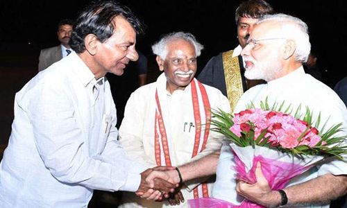 bjp trs friendship