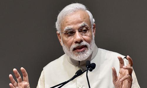 modi blank faces bjp leaders