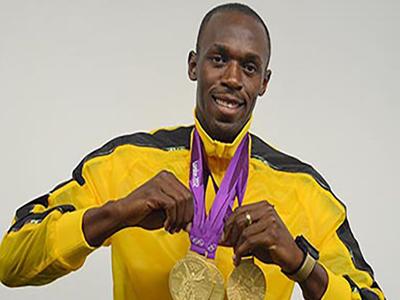 usain bolt got 3 gold medal rio olympics