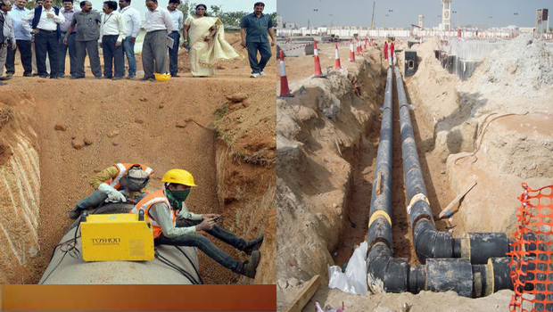 bhageeratha mission bsnl cables medak disrict