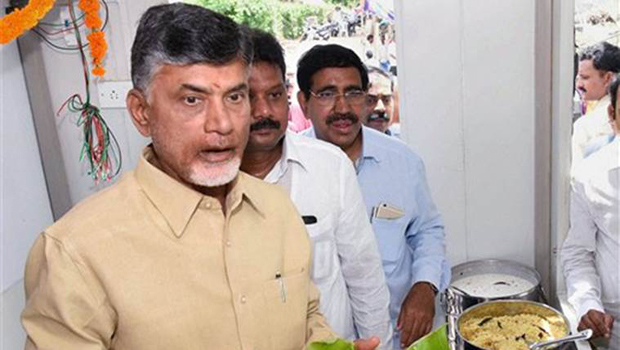 chandrababu happy about pushkaralu food offering bigger than olympics food offering