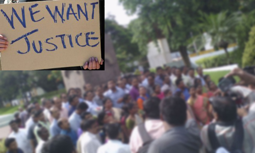 we want justice nayeem effected people