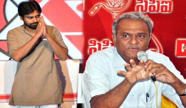 cpi politician narayana said about pawan kalyan