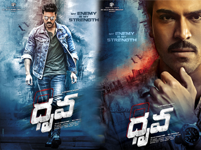 dhruva movie first look 8 number backside story what.?