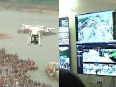 drone cameras pushkaralu