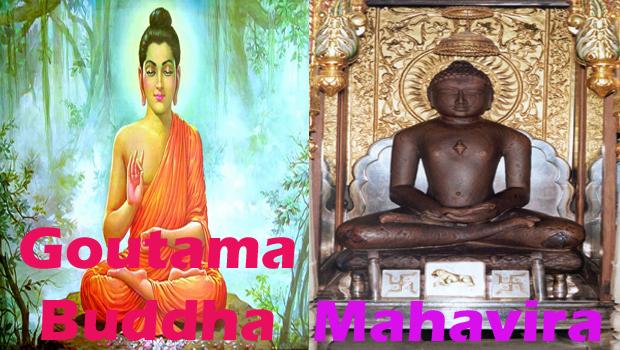 Goutama Buddha,mahaveera