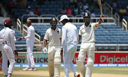 india west indies 3rd test west indies break india top order