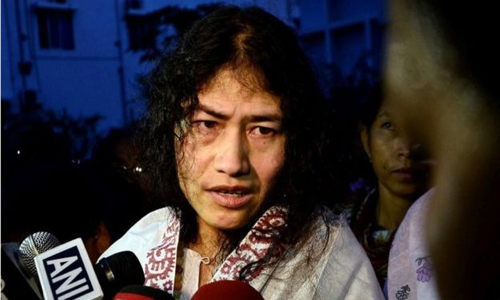 irom sharmila goal become minister