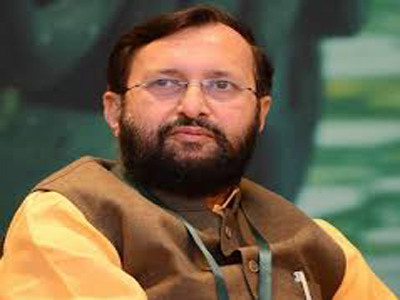 central minister javadekar no talking special status