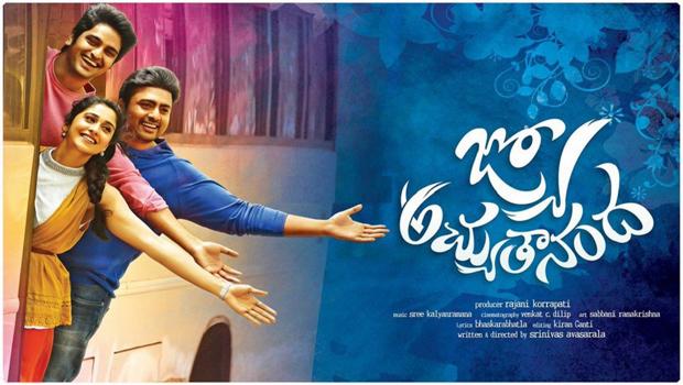 nara rohit naga shourya jyo achyutananda movie release september 9