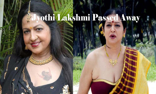 jyothi lakshmi passed away