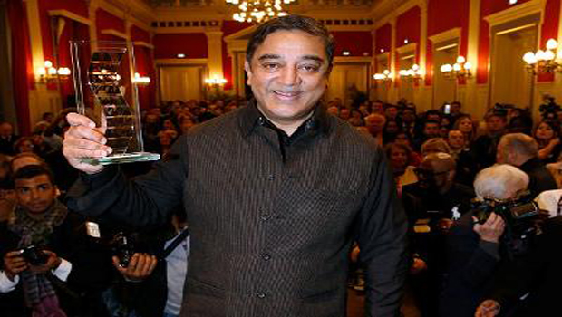 kamal haasan got french cheverly year award