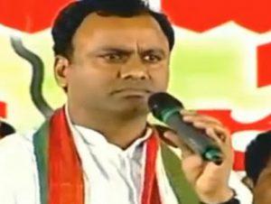 komiti rajagopal reddy said trs party used nayeem