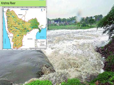 krishna river water war ap telangana karnataka