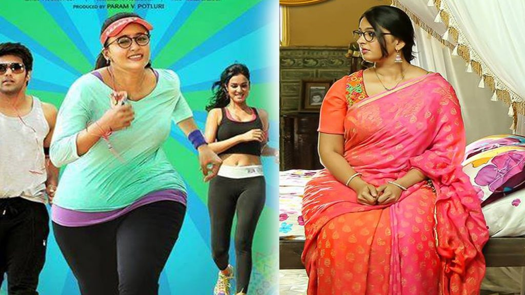bahubali team worried about anushka body size