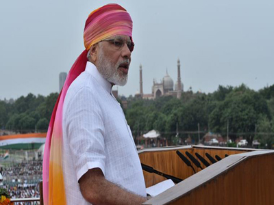 modi lied speech august 15