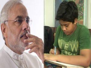 8 class boy devansh jain wrote letter modi shocked
