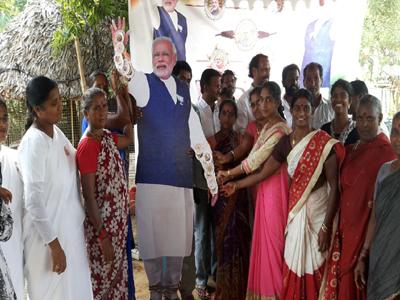 ap ladies threading rakhee modi doll hand demand special status