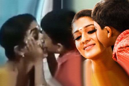 nayanthara lip lock movie hit