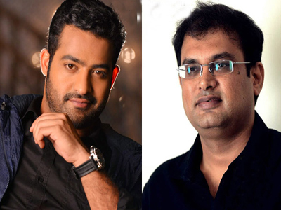 next month ntr new movie going sets