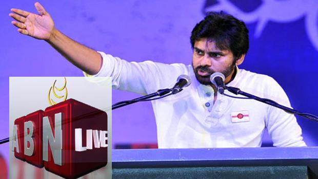pawan kalyan fires abn news chanal