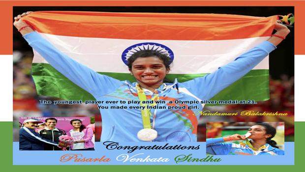 congratulations pv sindhu balakrishna