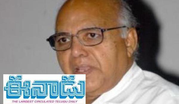 eenadu chairman ramoji rao got crucial time