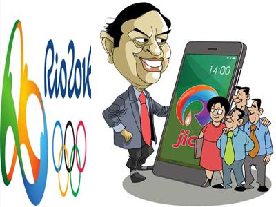 rio olympics reliance jio live telecast