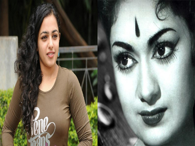 savithri biopic movie role act nithya menan not vidhyabalan