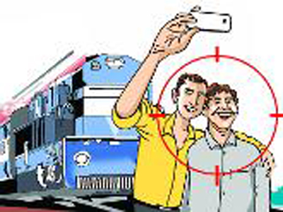 who selfie in front of train get 5 years jail