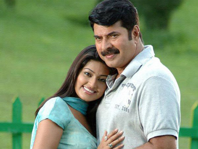sneha again act mammutty wife character