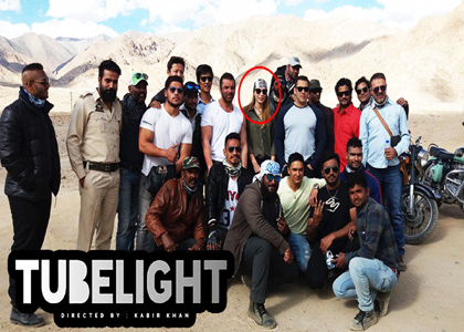 salman khan goto girl friend tubelight movie shooting