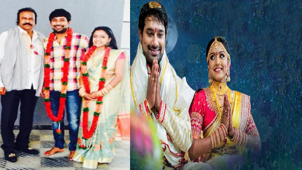 mohan babu going varun sandesh marriage
