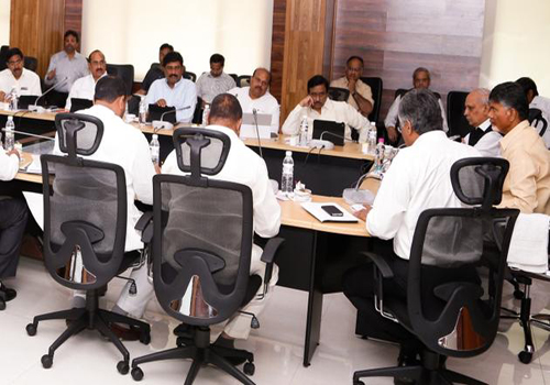 all andhra pradesh ministers busy