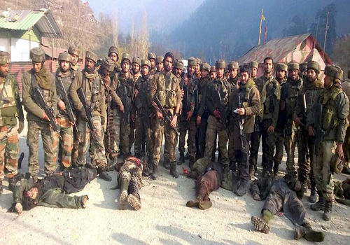 terrorists attacked kashmir indian army