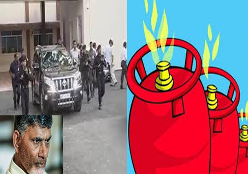 chandrababu scared delhi indosaan exhibition cylinder blast