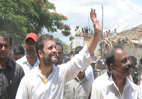 rahul gandhi meeting ap demand special status