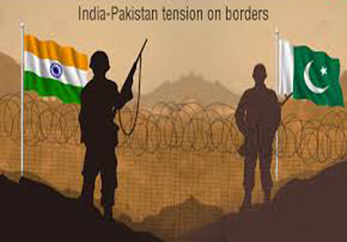 india pakistan border war tension