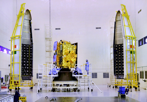 inshort 3dr satellite gslv experiment nasa