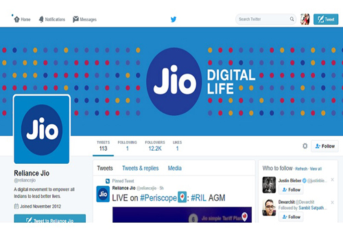 social media satire reliance jio