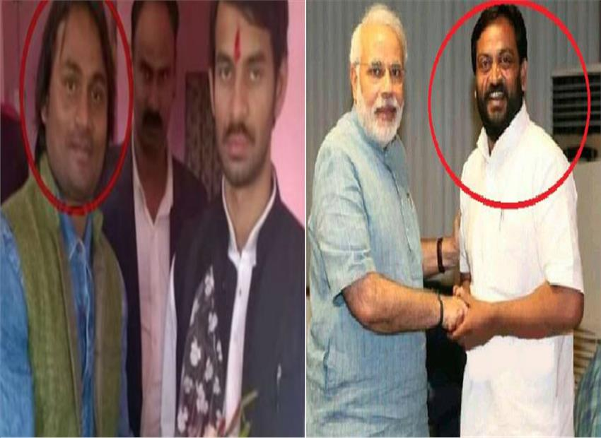 lalu's son tej pratap yadav giving shocked modi