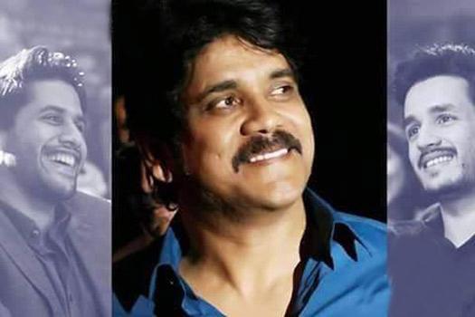 nagarjuna clarified about akhil naga chaitanya new movie directors