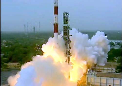 pslv-c35 rocket gone space successfully