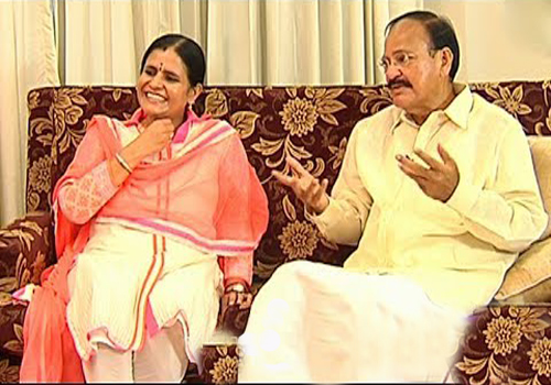 venkaiah nayudu daughter deepa venkat coming politics