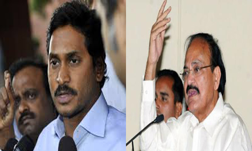 venkaiah advice jagan