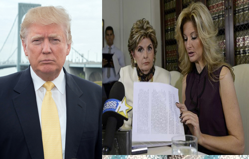 Christina Dugan summer zervos said  trump Sexual Harassment the apprentice tv show