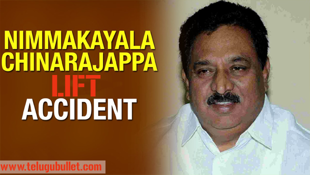 chinarajappa got lift accident