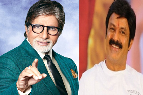 amitabh bachchan giving dates balayya rythu movie