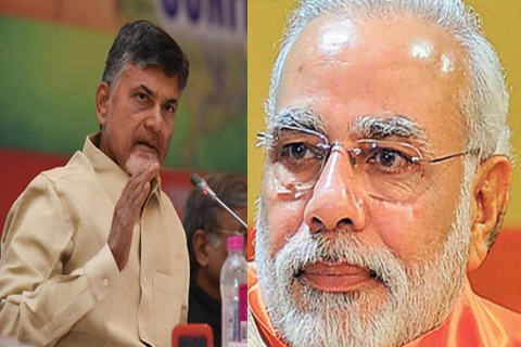 chandrababu wrote letter modi stop 500 rupees 1000 rupees notes